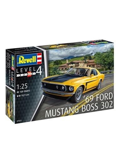 Revell  Maket 1969 Ford Mustang 07025 Renkli